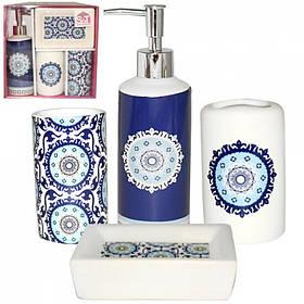 Набор аксессуаров для ванной комнаты S&T 4 предмета Восток 888-06-012