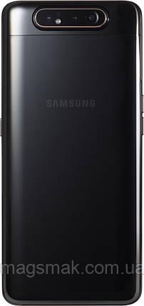 Смартфон Samsung Galaxy A80 8/128GB Phantom Black, фото 2