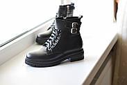 Кожаные ботинки берцы Abbi, фото 6