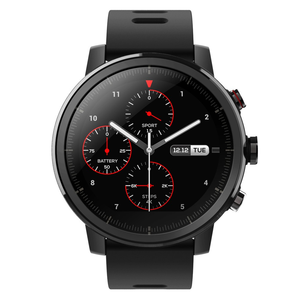 Фитнес-браслет Smart Watch Amazfit Stratos Sport Black