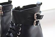 Кожаные ботинки берцы Abbi, фото 9