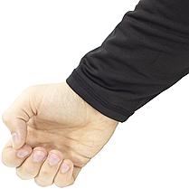Термобелье мужское ESDY A152 XXXL Black термокомплект функциональное белье для мужчин флисовый ветрозащитный, фото 2