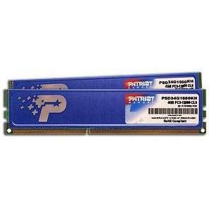 Оперативная память  PATRIOT 8 GB (2x4GB) DDR3 1333 MHz (446787128)