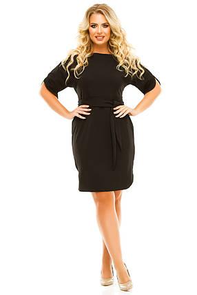 Платье 5616 черный, фото 2