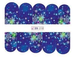 Слайдер-дизайн для ногтей BN210 6.2*5.2 см