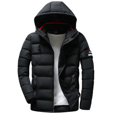 Мужская Куртка Короткая Весна L (48) (MO1835) Черная