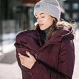 Зимняя слингокуртка Love&carry (Лав энд керри) Марсала, зима 2019-2020, фото 3