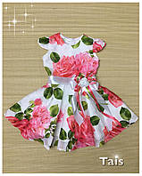 """Нарядное платье """"Розовая роза"""" для девочки"""