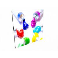 Керамический обогреватель Кам-Ин цветной 475вт