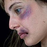 "MEHRON Набір кремового гриму для образу ""Синці і забої"" Tri-Color Makeup Palette (Bruise), 20 г, фото 3"