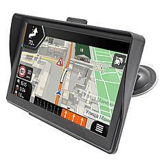 """☛GPS навигатор 7"""" Pioneer 736 WinCE TFT экран 8 Gb microSD AUX навигация IGO с козырьком для дальнобойщиков"""