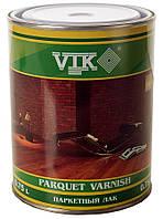 Лак VIK паркетный  полу-матовый 0,75 л.