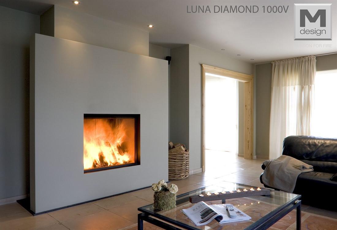 Топка M-Design Luna 1000 V Diamond +