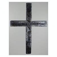 Декор на Хеллоуин Крест пенопласт
