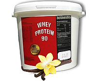 (Оригинал) Протеин ACTIVEVITES Whey Protein 90 4000g  ваниль