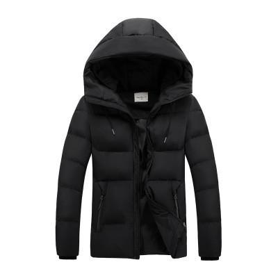 Мужская Куртка Короткая Зима-Осень L (48-50) (MO9333) Черная
