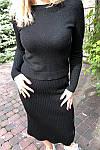 Костюм юбка и джемпер с узором трикотажа лапша ( 532 ) разные расцветки, фото 8
