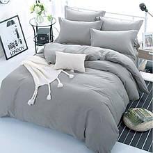 Однотонный комплект постельного белья