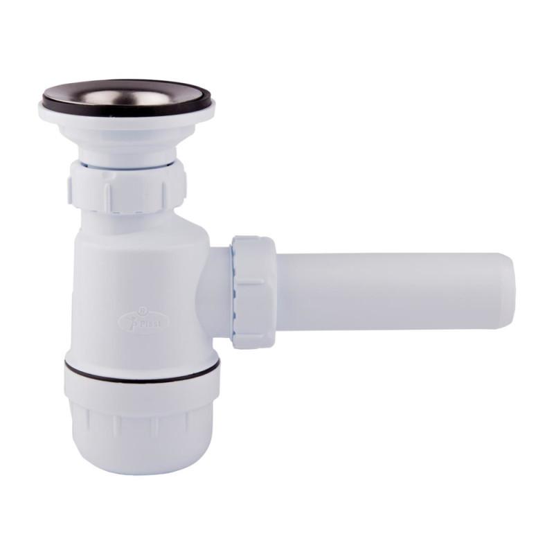 Сифон UA 06 для кухни, выпуск 70 мм (выход 40 мм)