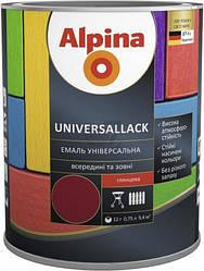 Эмаль алкидная Alpina universallack универсальная глянцевая зеленая 2,5л