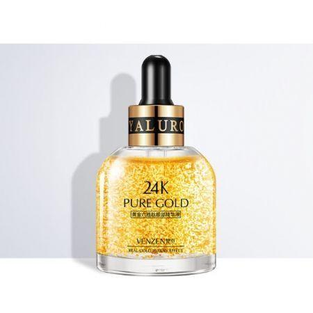 Сыворотка для кожи вокруг глаз Venzen Pure Gold 24K Argireline Eye (30мл)