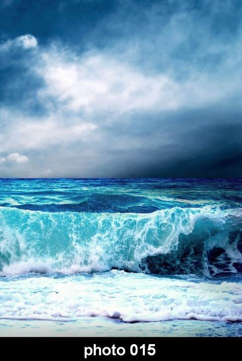 Настенный обогреватель-картина шторм