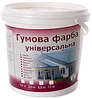 Краска резиновая универсальная VIKING, (черная)1,2 кг,