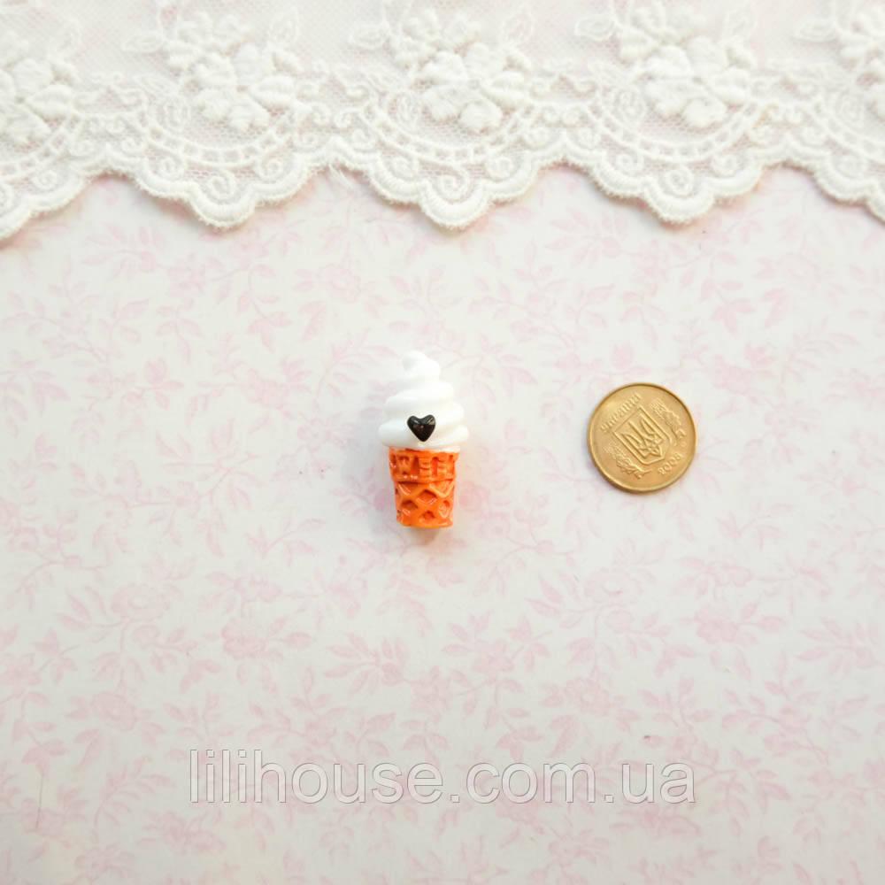 1:12 Миниатюра Мороженко с Сердечком 2.5 см
