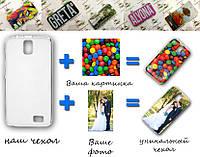 Печать на чехле для Samsung Note 4