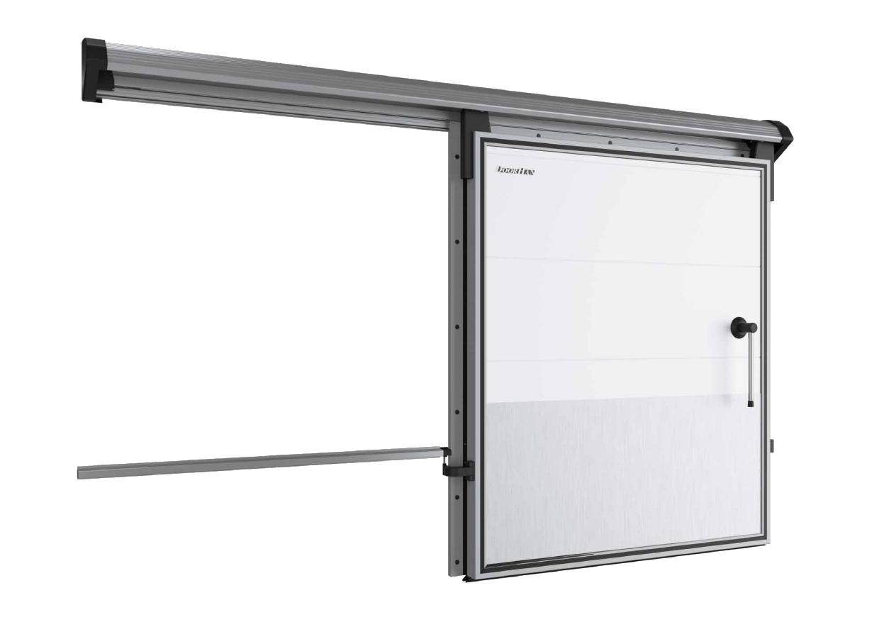 DoorHan IsoDoor IDS1 — дверь откатная для охлаждаемых помещений
