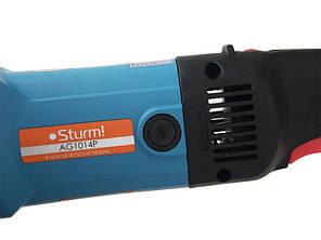 Болгарка Sturm AG9514P : 1000 Вт - 125 мм | Регулировка оборотов | подшипники NSK (Япония) | Гарантия 3 года, фото 2