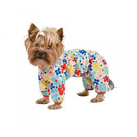 Дождевик для собак Pet Fashion «Бонни» M (цветы)