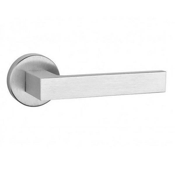 Дверная ручка TUPAI SGUARE  2275  5S хром матовый
