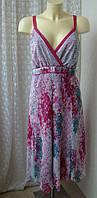 Платье женское летнее сарафан батал бренд Per Una р.52-54, фото 1