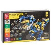 DIY CIC 21-618 робот Робопарк 12 в 1, конструктор для розвитку дітей