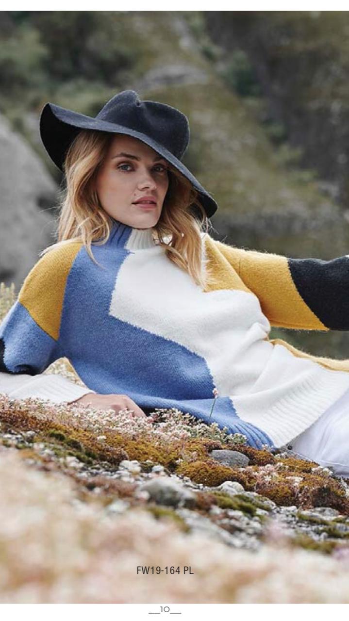 Теплый женский свитер, Marina V FW19-164