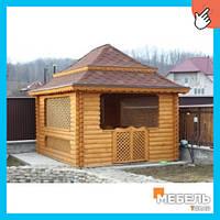 Деревянная беседка TokarMebel №5 300х400