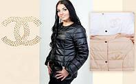 Куртка женская больших размеров 1520 Ян кроме черн