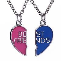 "Кулоны ""Best friends"" для друзей и подруг"