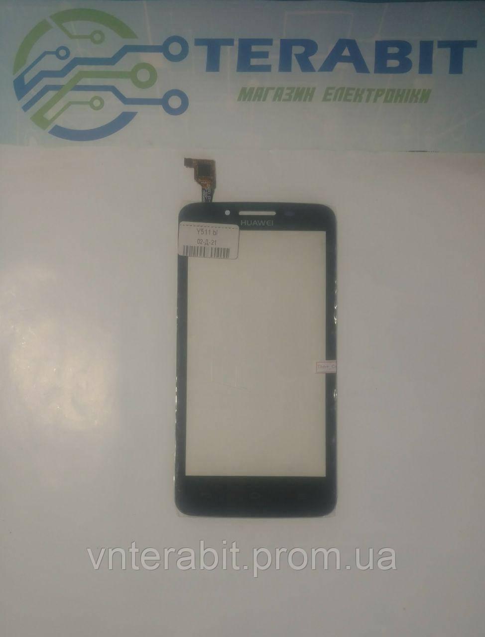 Тачскрин (сенсор) для Huawei Y511