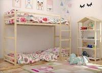 Двухярусная кровать Барни ольха