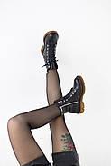 Кожаные ботинки на прозрачной коричневой подошве Abbi, фото 4