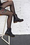 Кожаные ботинки на прозрачной коричневой подошве Abbi, фото 5