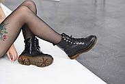 Кожаные ботинки на прозрачной коричневой подошве Abbi, фото 6