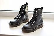 Кожаные ботинки на прозрачной коричневой подошве Abbi, фото 7