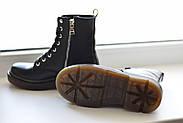 Кожаные ботинки на прозрачной коричневой подошве Abbi, фото 9