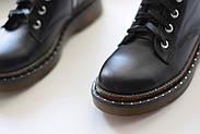 Кожаные ботинки на прозрачной коричневой подошве Abbi, фото 8