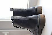 Кожаные ботинки на прозрачной коричневой подошве Abbi, фото 10