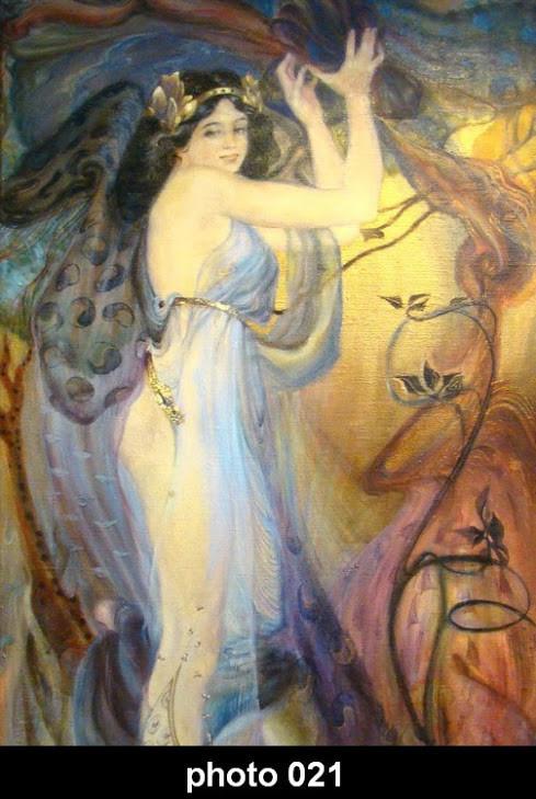 Настінний обігрівач-картина дівчина