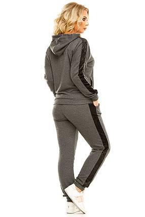 Спортивный костюм 5724 темно-серый, фото 2